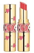 Yves Saint Laurent Heart And Arrow Rouge Volupte Shine Collector Oil-in-stick Lipstick - Corail Spontini