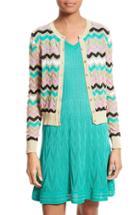 Women's M Missoni Ombre Zigzag Stripe Cardigan