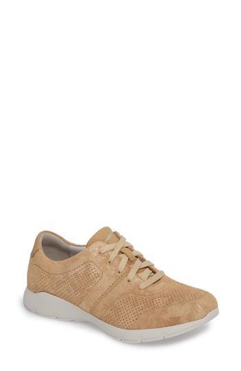 Women's Dansko Alissa Sneaker .5-6us / 36eu M - Yellow