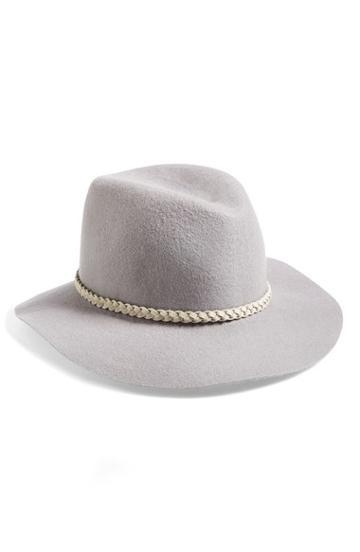 Women's Hinge Felt Panama Hat -