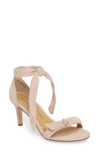 Women's Chinese Laundry Rhonda Ankle Tie Sandal .5 M - Pink