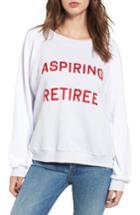 Women's Wildfox Aspiring Retiree Sweatshirt