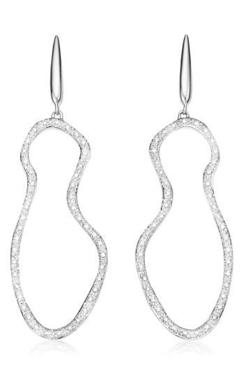 Women's Monica Vinader Riva Pod Diamond Cocktail Earrings