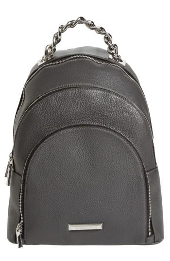 Kendall + Kylie Sloane Leather Backpack - Black