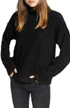 Women's Sanctuary Disco Speck Turtleneck Sweater - Metallic