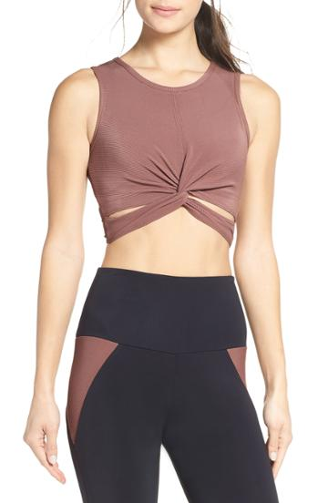 Women's Onzie Front Twist Crop Top