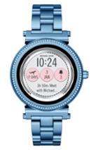 Women's Michael Kors Access Sofie Touchscreen Bracelet Smart Watch, 42mm