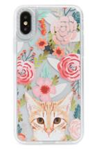 Casetify Cat Floral Iphone X/xs, Xr & X Max Case -