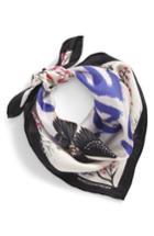 Women's Rebecca Minkoff Love Doves Silk Bandana, Size - Pink