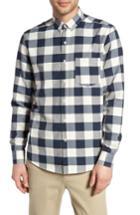 Men's Topman Check Twill Shirt
