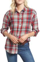 Women's Madewell Classic Ex-boyfriend Shirt - Red