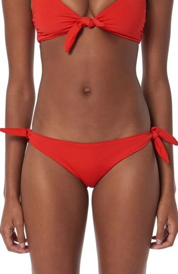 Women's Mara Hoffman Sita Bikini Bottoms - Red