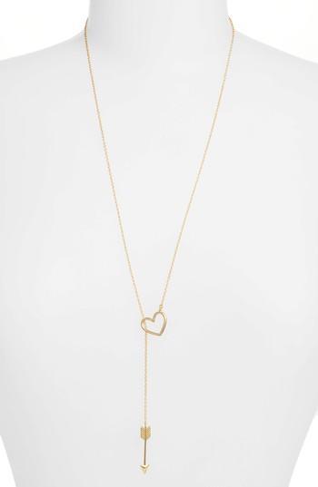 Women's Gorjana Cupid Toggle Lariat Necklace