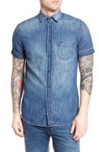 Men's Diesel D-kendall Denim Shirt - Blue