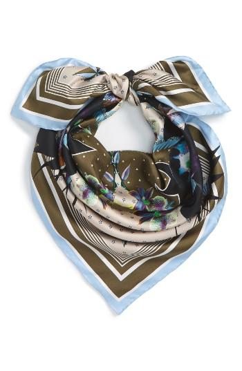 Women's Givenchy Ultra Paradise Silk Scarf