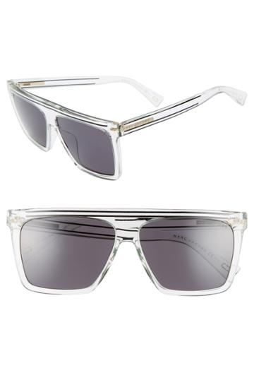 Women's Marc Jacobs 59mm Flat Top Sunglasses -