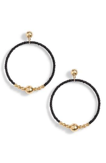 Women's Gorjana Sayulita Drop Hoop Earrings