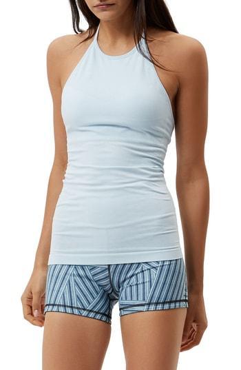 Women's Sweaty Betty Dandasana Yoga Tank - Blue