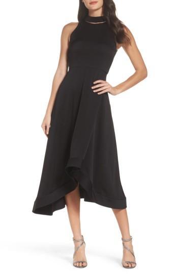 f3619f9251a8 Women's Shoshanna Fortrose High/low Midi Dress | LookMazing