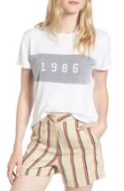 Women's Sincerely Jules 1986 Tee - White