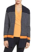 Women's Chaus Stripe Cardigan