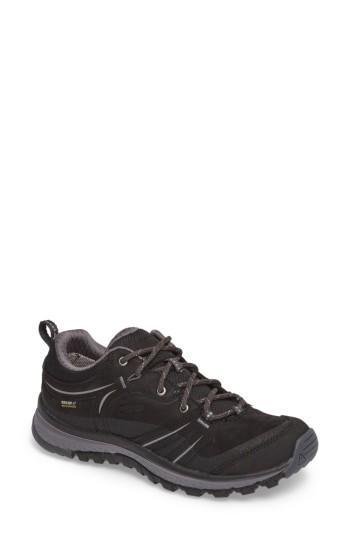 Women's Keen Terradora Waterproof Hiking Shoe M - Black