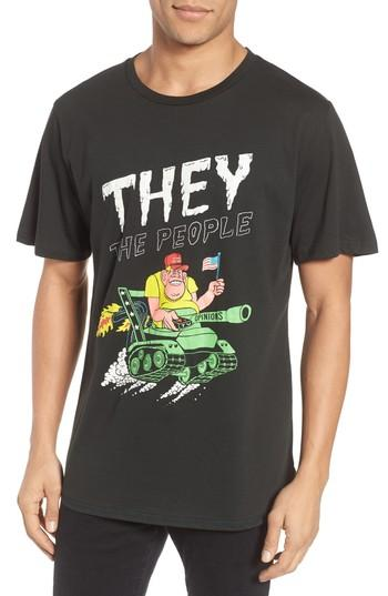 Men's Barking Irons They The People Graphic T-shirt - Black