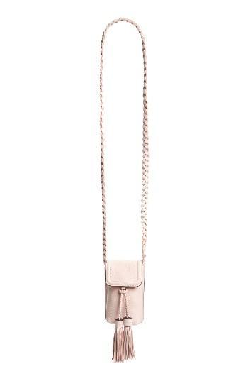 Rebecca Minkoff Isobel Phone 6/6s Crossbody Bag - Pink