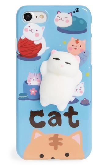 Bp. Squishy Kitty Cat Iphone 7/8 Case - Blue
