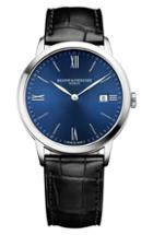 Men's Baume & Mercier Classima Leather Strap Watch, 40mm