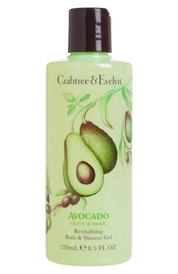 Crabtree & Evelyn 'avocado, Olive & Basil' Bath & Shower Gel .5 Oz