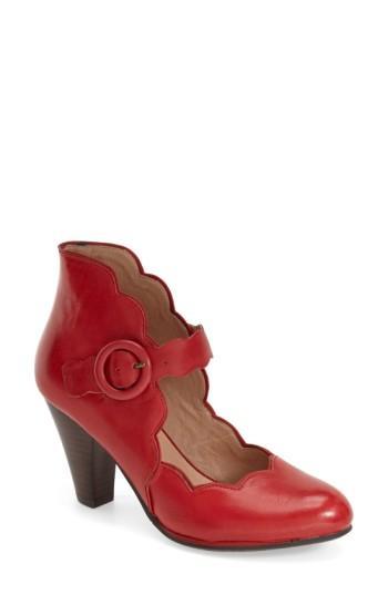 Women's Miz Mooz Footwear 'carissa' Mary Jane Pump M - Red