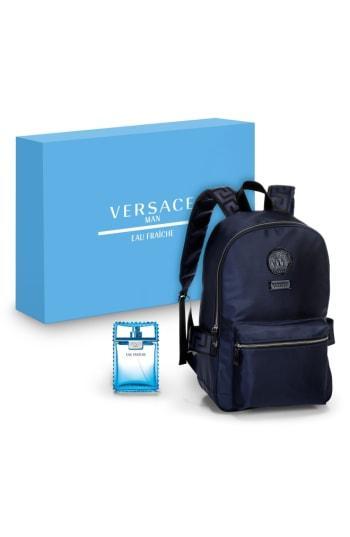Versace Man Eau Fraiche Eau De Toilette Set ($112 Value)