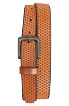 Men's Remo Tulliani Laser Cut Leather Belt