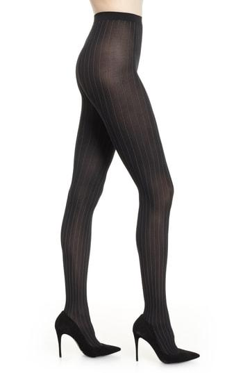 Women's Wolford Muriel Tights - Black