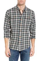 Men's Filson Plaid Cotton Sport Shirt - Green