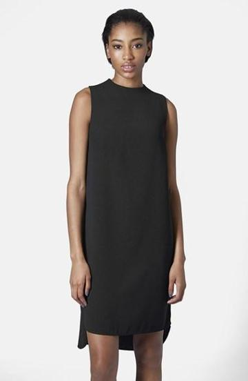 Women's Topshop Mock Neck Tunic