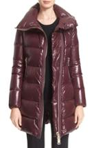 Women's Moncler 'joinville' Water Resistant High Collar Down Puffer Coat