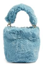 Topshop Teddy Faux Fur Bucket Bag -