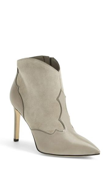 Women's Sam Edelman 'bradley' Suede & Leather Pointy Toe Boot,