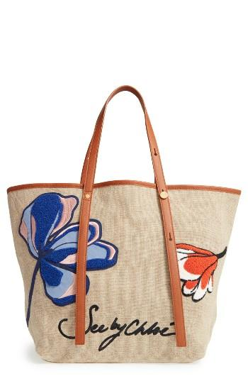 See By Chloe Andy Appliqued Tote -
