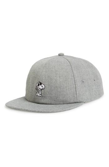 Men's Vans X Peanuts Ball Cap - Grey