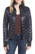 Women's Guess Quilted Jacket - Blue