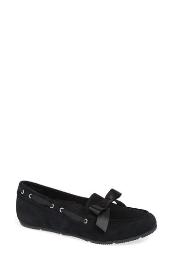 Women's Vionic Alice Moccasin .5 M - Black