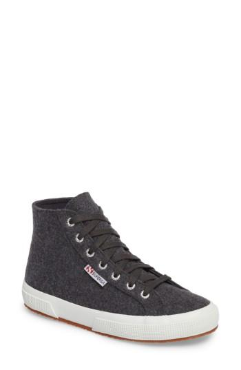 Women's Superga 2795 High Top Sneaker Us / 36eu - Grey