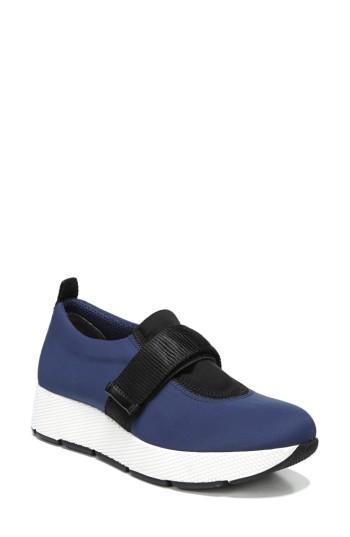 Women's Sarto By Franco Sarto Odella Slip-on Sneaker M - Blue