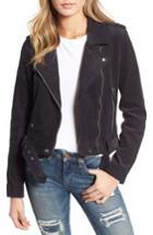 Women's Blanknyc Corduroy Moto Jacket - Grey