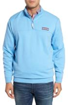 Men's Vineyard Vines Collegiate Shep Quarter Zip Pullover - Blue