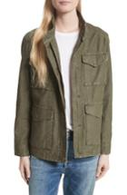 Women's Vince Military Jacket - Green