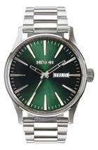 Men's Nixon 'the Sentry' Round Bracelet Watch, 42mm